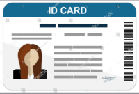 43+ Professional Id Card Designs – Psd, Eps, Ai, Word | Free Regarding High School Id Card Template