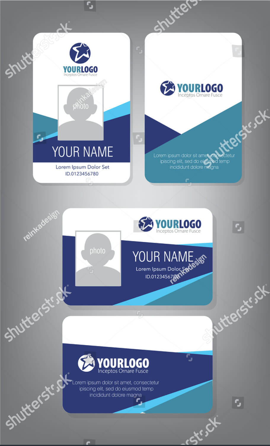 43+ Professional Id Card Designs - Psd, Eps, Ai, Word   Free throughout Id Card Design Template Psd Free Download