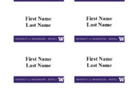 47 Free Name Tag + Badge Templates ᐅ Template Lab pertaining to Visitor Badge Template Word