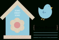 49 Free Change Of Address Cards (Moving Announcements) for Free Moving House Cards Templates