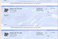 5+ Blank Payroll Check Paper | Secure Paystub | Chicano Art pertaining to Blank Business Check Template