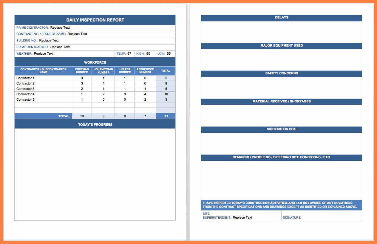 5+ Free Microsoft Word Report Templates | Andrew Gunsberg Within Microsoft Word Templates Reports