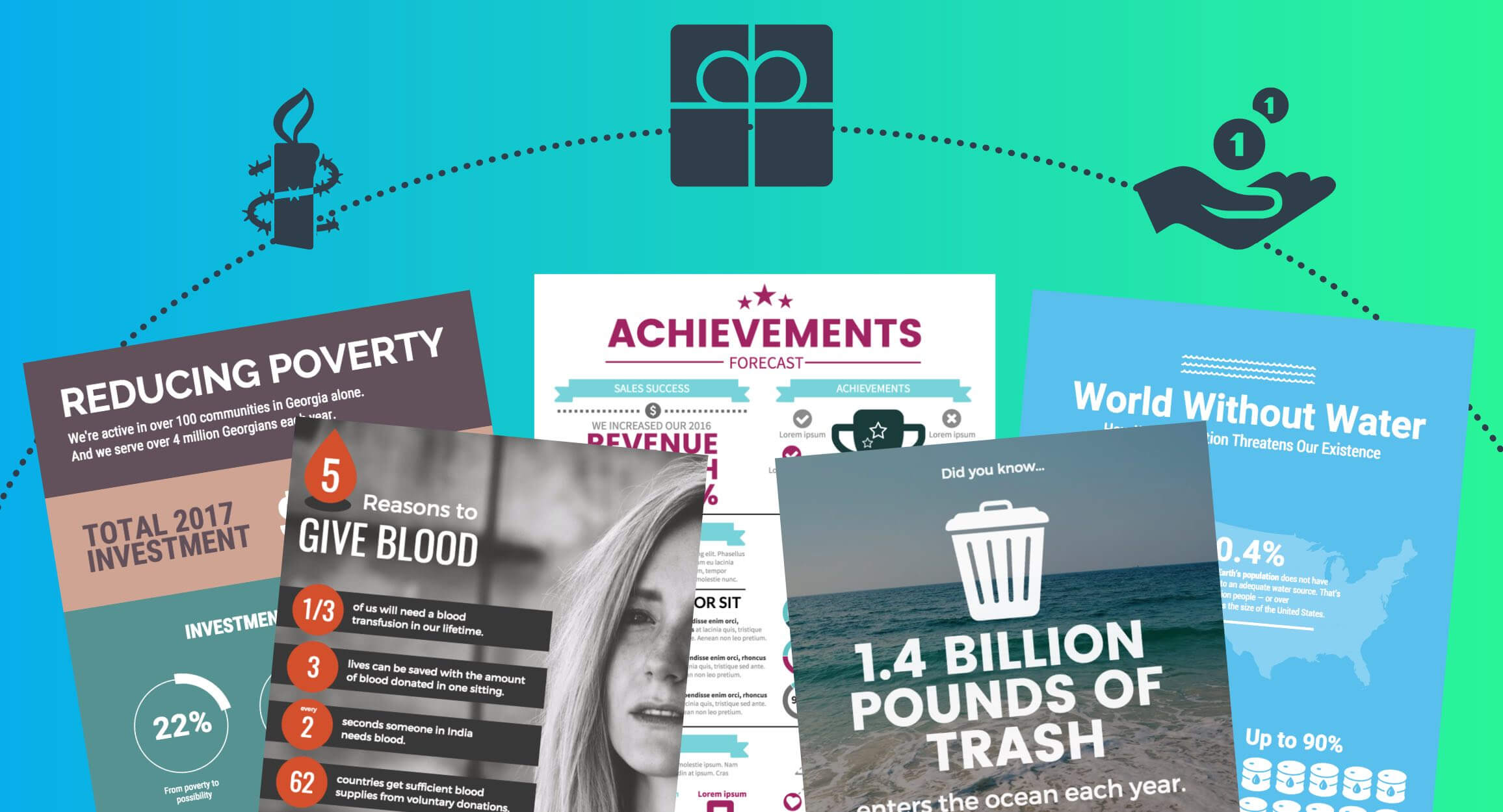 5 Must-Have Nonprofit Infographic Templates To Supercharge with regard to Nonprofit Annual Report Template