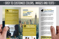 5 Powerful Free Adobe Indesign Brochures Templates! | throughout Adobe Tri Fold Brochure Template