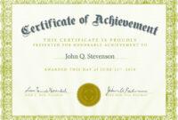 5 Templates Doc Certificates | Certificate Templates regarding Certificate Template For Pages