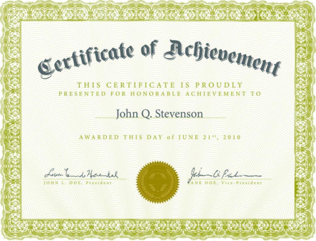 5 Templates Doc Certificates   Certificate Templates regarding Certificate Template For Pages