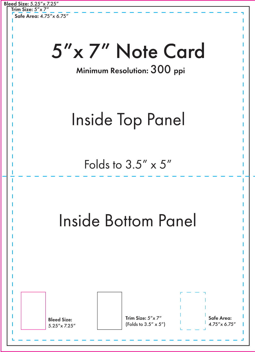 """5"""" X 7"""" Note Card Template - U.s. Press in 3 By 5 Index Card Template"""