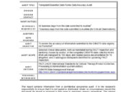 50 Free Audit Report Templates (Internal Audit Reports) ᐅ within Internal Control Audit Report Template