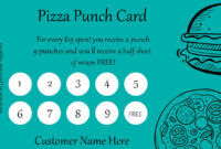 50+ Punch Card Templates – For Every Business (Boost regarding Business Punch Card Template Free