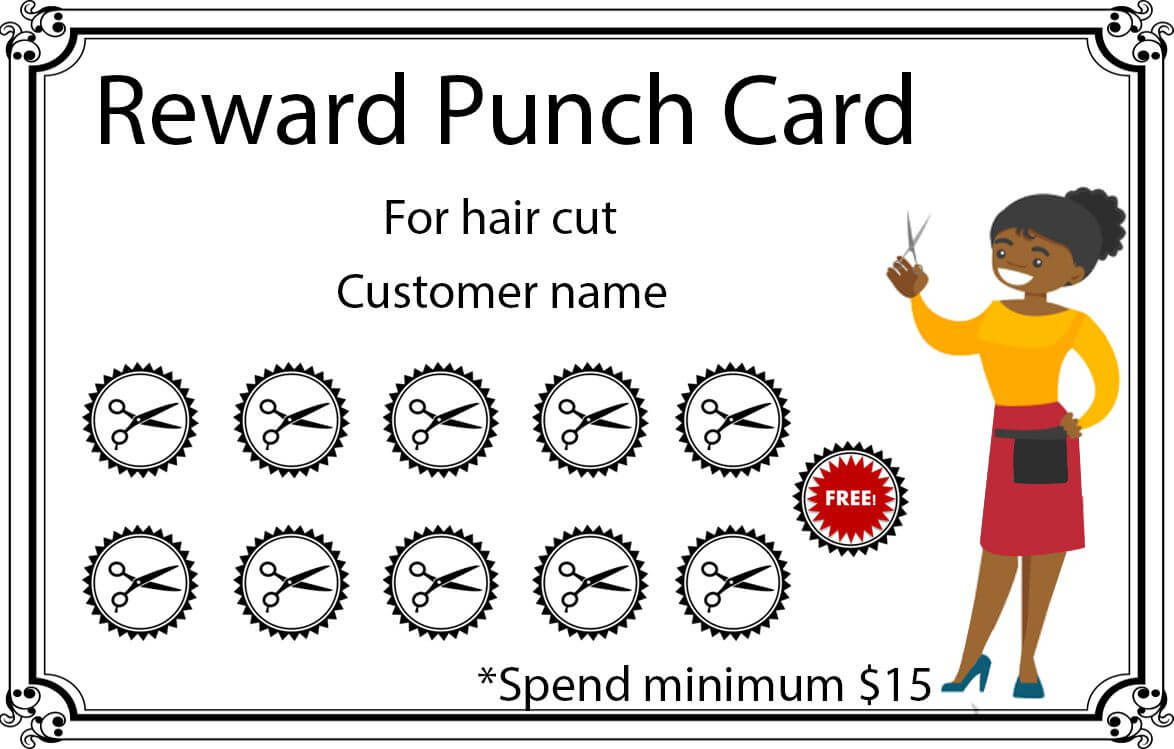 50+ Punch Card Templates - For Every Business (Boost with Reward Punch Card Template