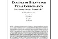 50 Simple Corporate Bylaws Templates & Samples ᐅ Template Lab in Corporate Bylaws Template Word