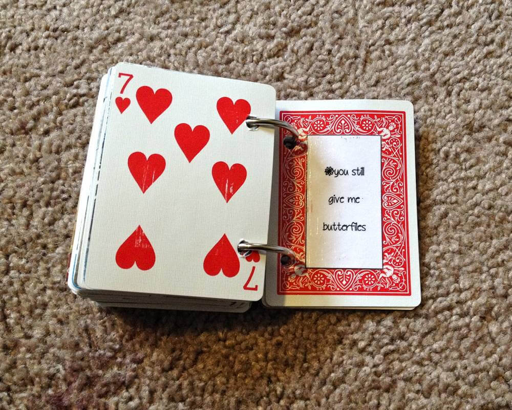 52 Reasons Why I Love You Diy - Lil Bit with 52 Things I Love About You Deck Of Cards Template