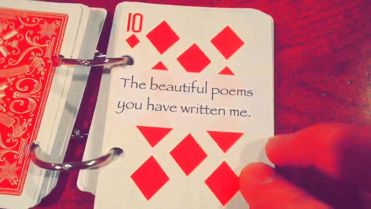 52 Things I Love About You with regard to 52 Things I Love About You Deck Of Cards Template