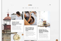 55+ Best Clean WordPress Themes 2019 – Colorlib with Blank Food Web Template