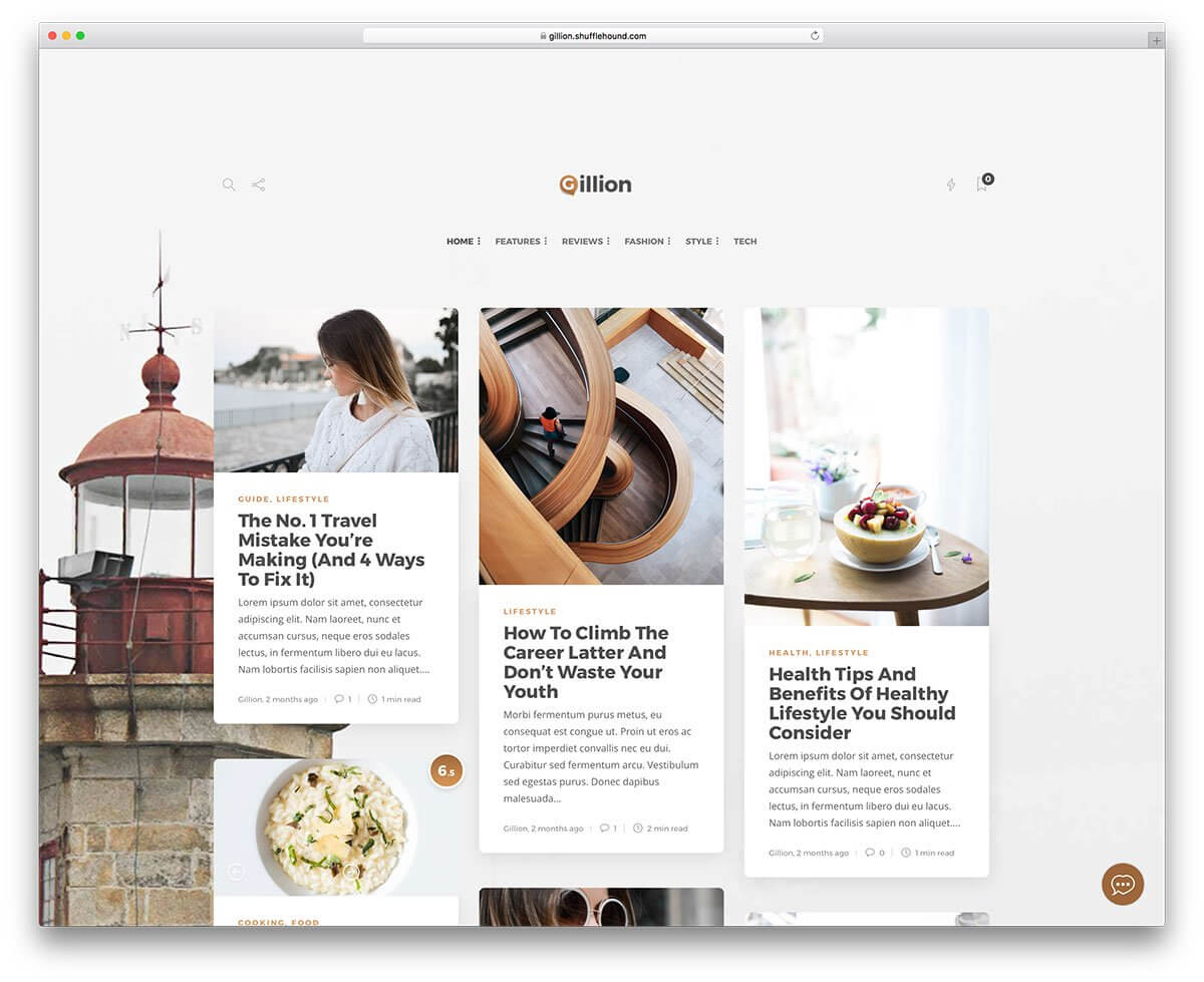 55+ Best Clean Wordpress Themes 2019 - Colorlib with Blank Food Web Template