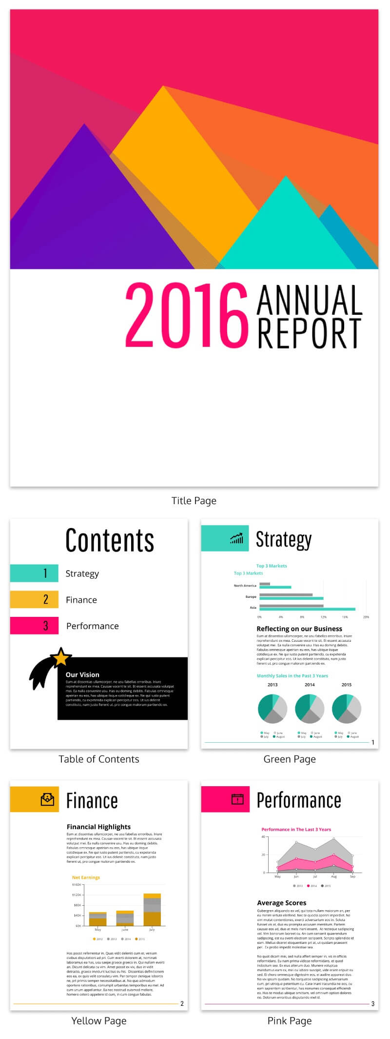 55+ Customizable Annual Report Design Templates, Examples & Tips for Word Annual Report Template