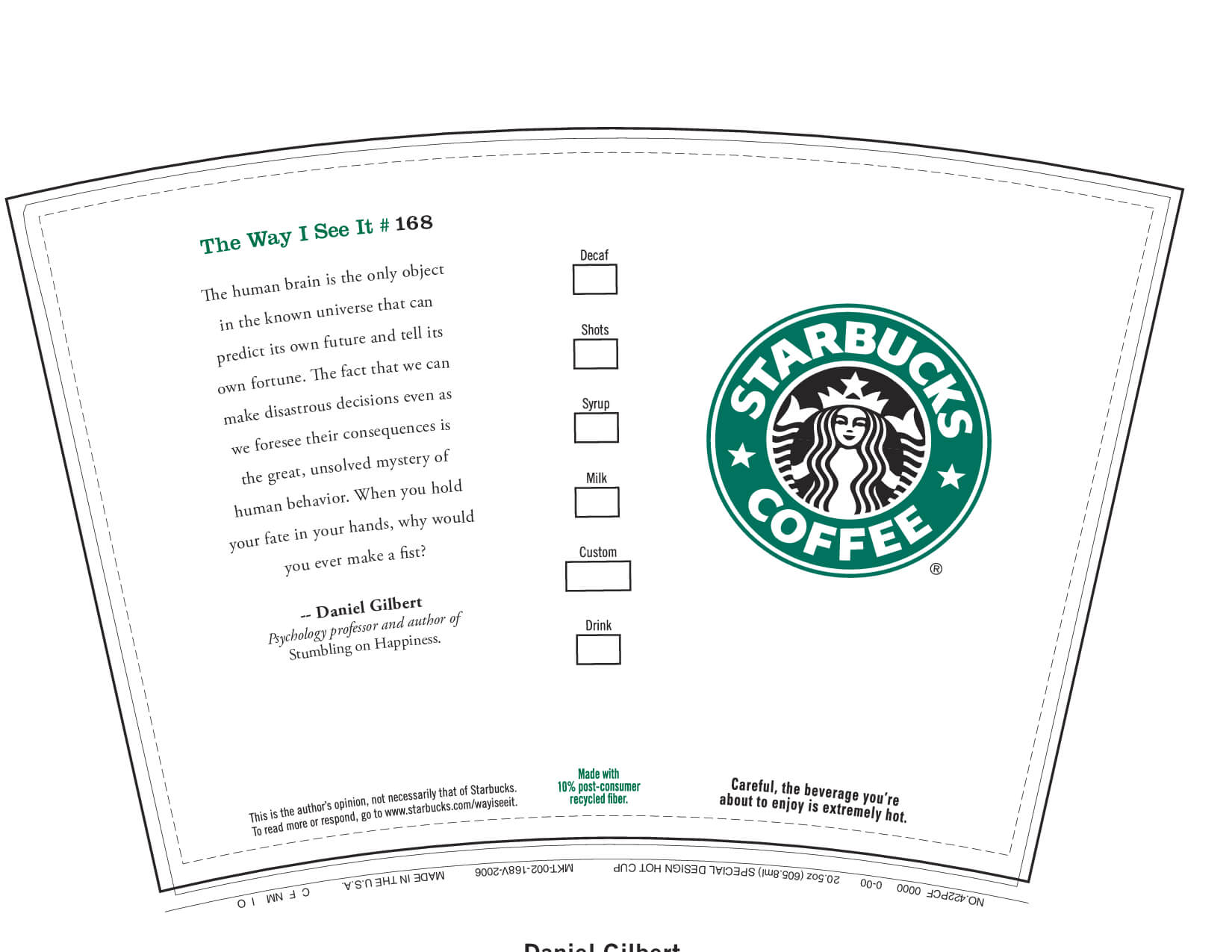 6 Best Images Of Printable Starbucks Coffee Cups - Starbucks Intended For Starbucks Create Your Own Tumbler Blank Template