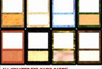 6 Blank Magic Card Template – Sampletemplatess intended for Blank Magic Card Template