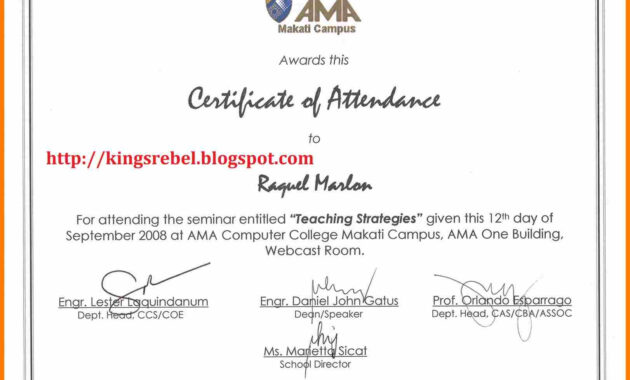 6+ Certificate Of Appearance Template | Weekly Template regarding Certificate Of Appearance Template