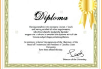 6+ Diploma Format Certificate | Dragon Fire Defense with regard to Ged Certificate Template