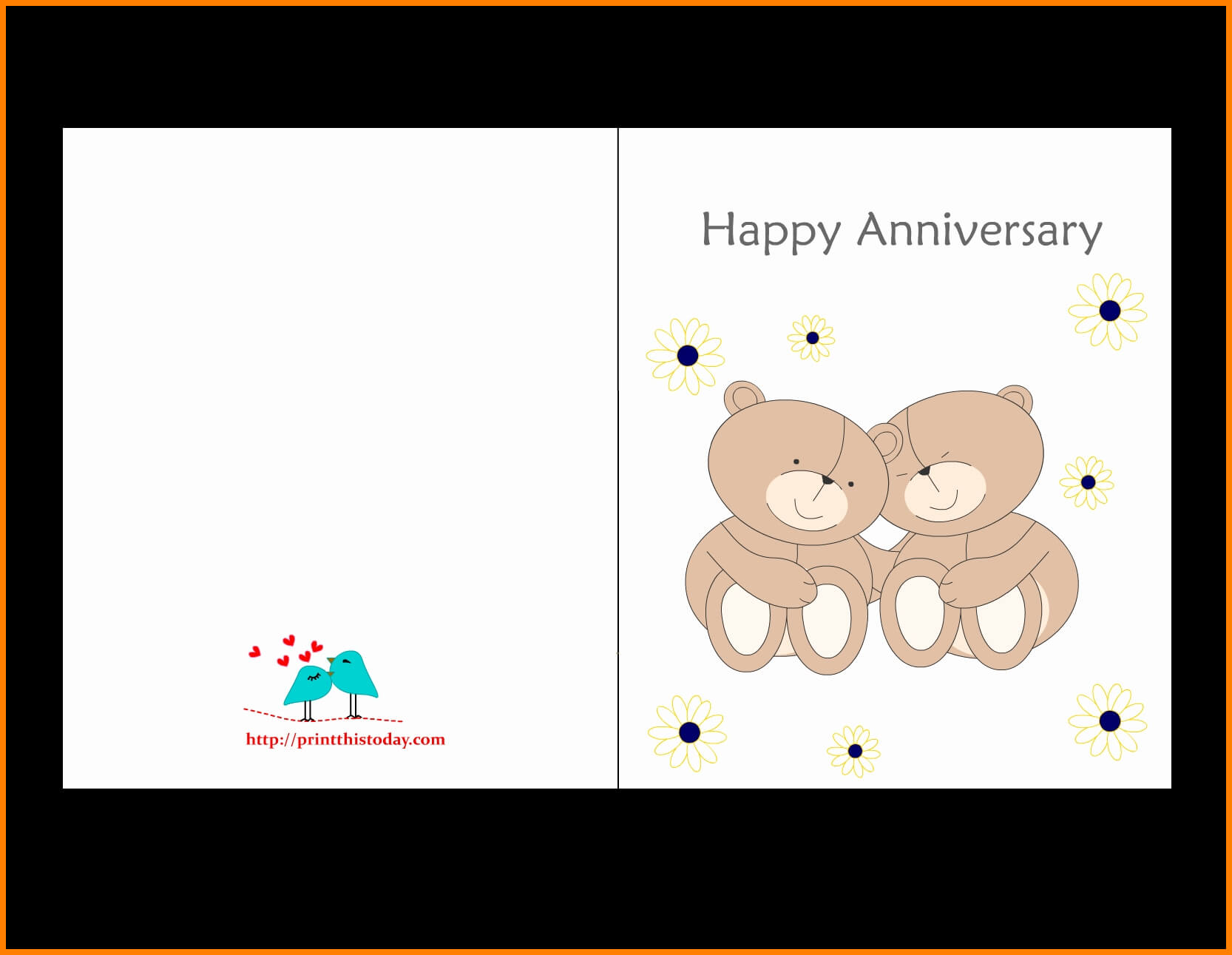 6+ Happy Anniversary Printable Card | Plastic-Mouldings with regard to Anniversary Card Template Word