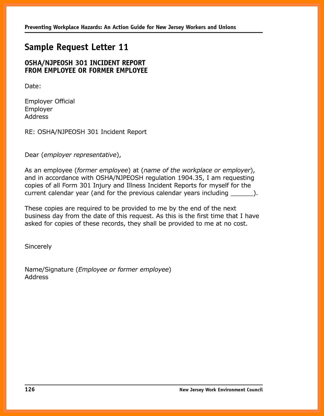 6+ Incident Report Letter Examples - Pdf | Examples within Sample Fire Investigation Report Template