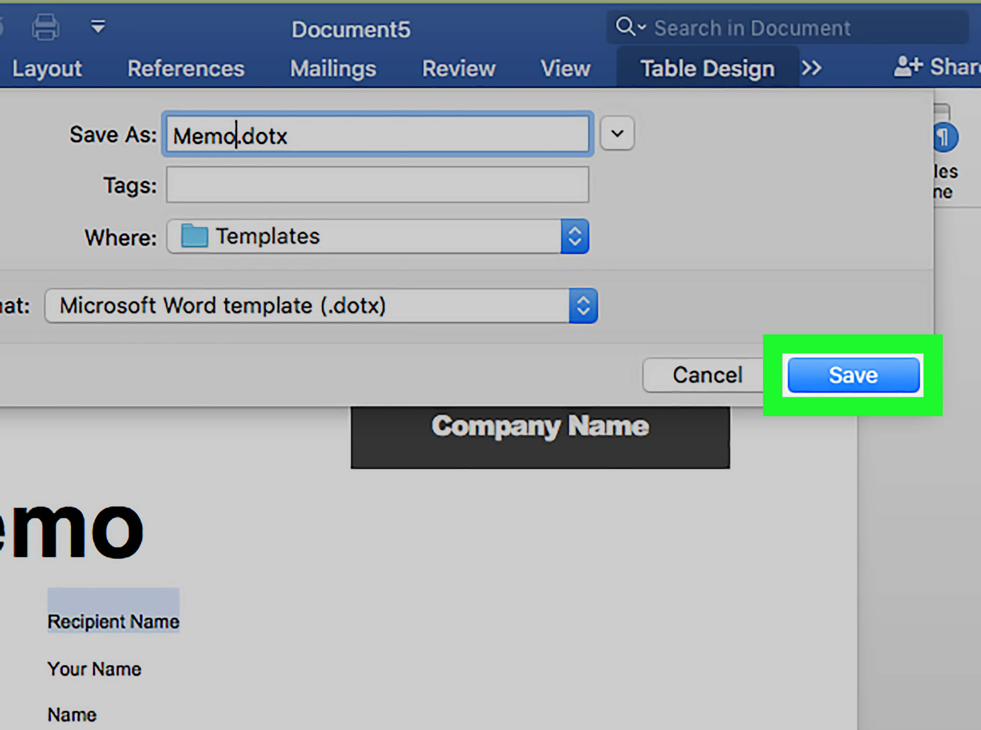 6 Ways To Use Document Templates In Microsoft Word - Wikihow with regard to Personal Check Template Word 2003