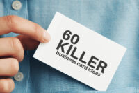 60 Modern Business Cards To Make A Killer First Impression in Freelance Business Card Template