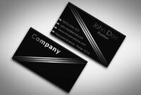 60+ Only The Best Free Business Cards 2015 | Free Psd Templates inside Black And White Business Cards Templates Free
