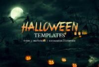 68+ Halloween Templates – Editable Psd, Ai, Eps Format with Free Halloween Templates For Word