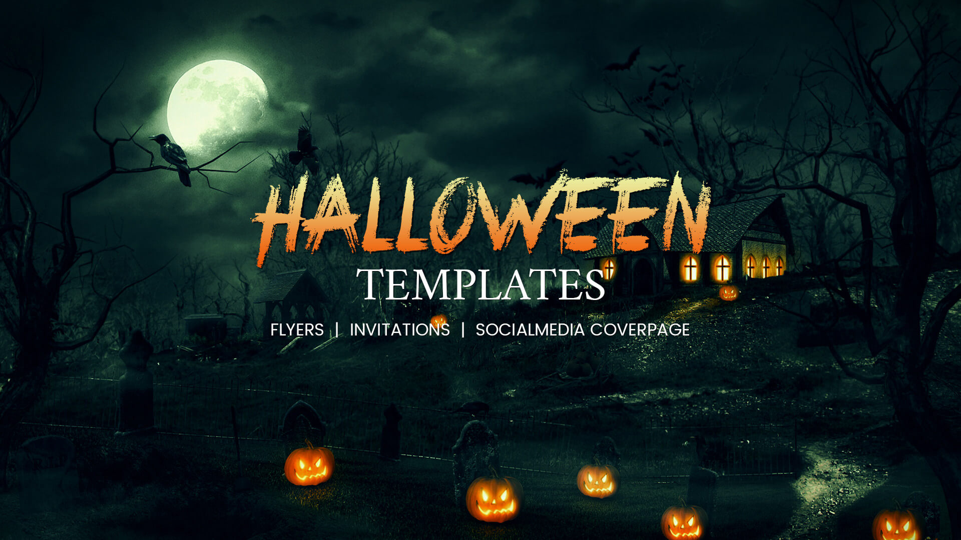 68+ Halloween Templates - Editable Psd, Ai, Eps Format with Free Halloween Templates For Word