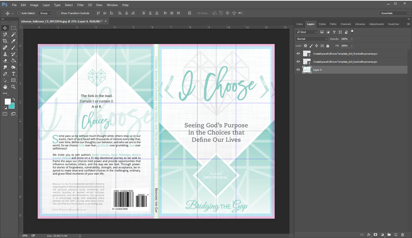 6×9 Full-Cover Template Overlays With Bleed And Barcode in 6X9 Book Template For Word
