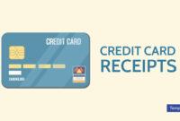 7+ Credit Card Receipt Templates – Pdf | Free & Premium in Credit Card Receipt Template
