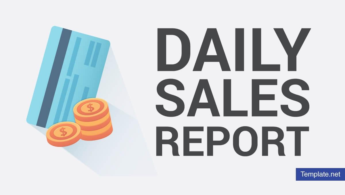7+ Daily Sales Report Templates – Pdf, Psd, Ai | Free Throughout Free Daily Sales Report Excel Template