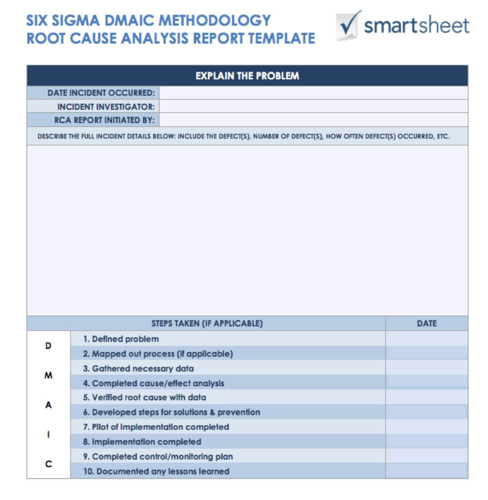 7 Free Root Cause Analysis Templates (And How To Use Them) throughout Failure Analysis Report Template