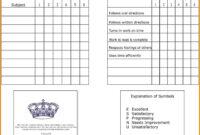 7+ Homeschool Report Card Template | Card Authorization 2017 throughout Homeschool Report Card Template