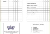 7+ Homeschool Report Card Template | Card Authorization 2017 with Blank Report Card Template