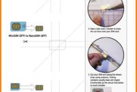 7+ Sim Card Cutting Template   New Looks Wellness for Sim Card Cutter Template