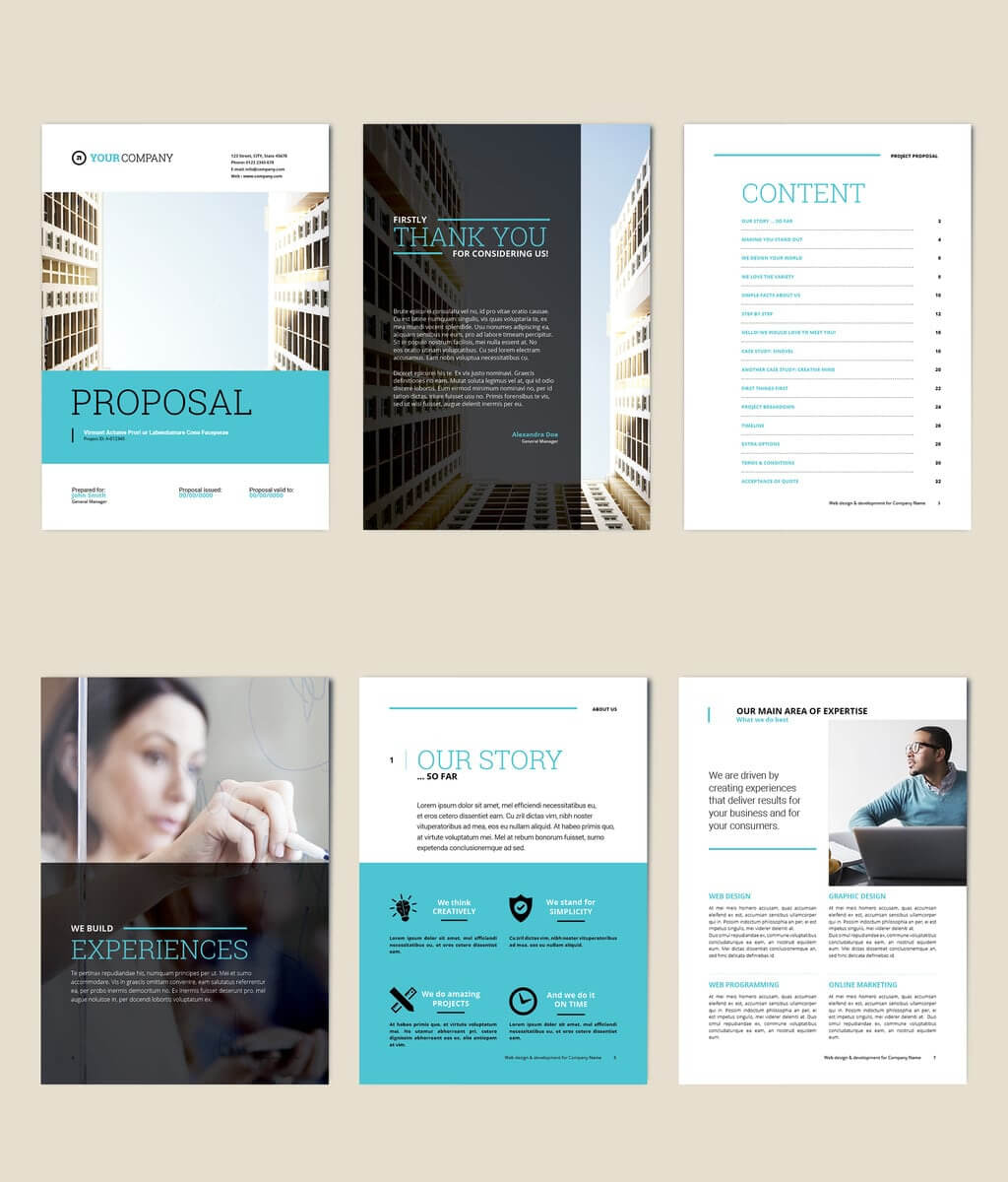 75 Fresh Indesign Templates And Where To Find More for Free Indesign Report Templates
