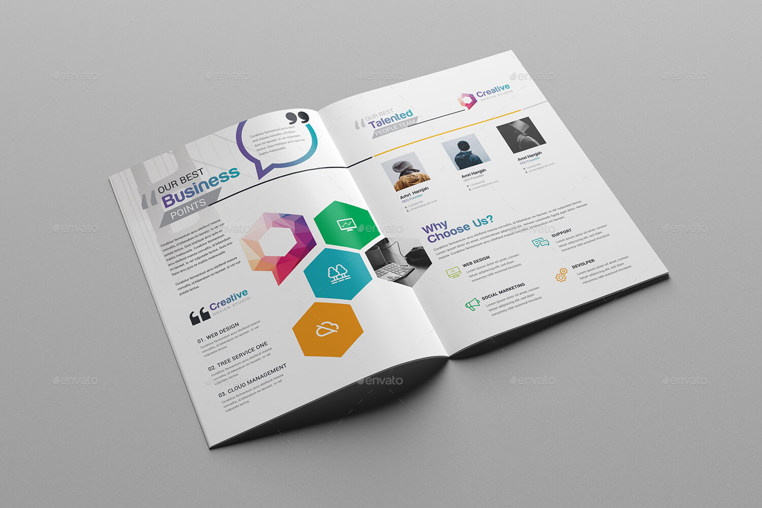 76+ Premium & Free Business Brochure Templates Psd To pertaining to Single Page Brochure Templates Psd