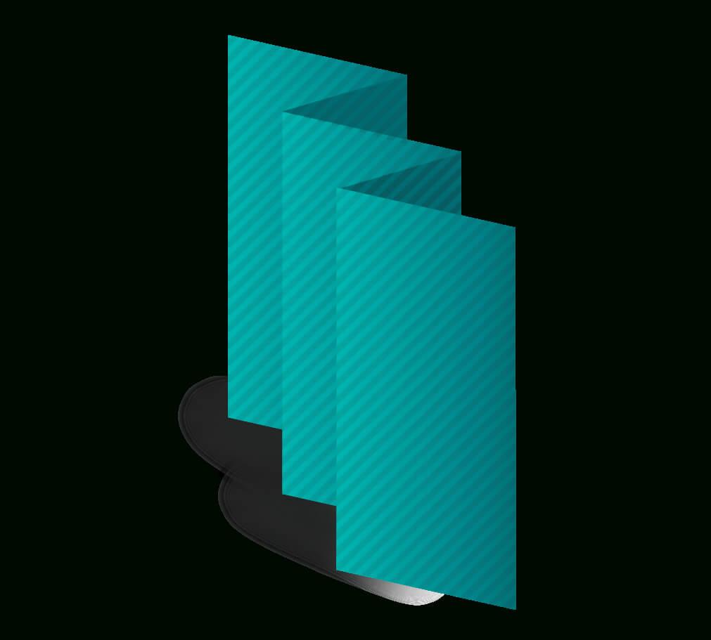 "8.5"" X 5.5"" Accordion Fold Brochure Template Download with regard to Quad Fold Brochure Template"