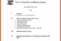 8+ Free Business Meeting Agenda Template Word | Andrew Gunsberg inside Free Meeting Agenda Templates For Word