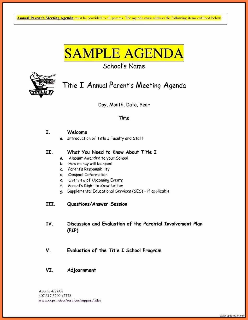 8+ Free Business Meeting Agenda Template Word | Andrew Gunsberg pertaining to Event Agenda Template Word