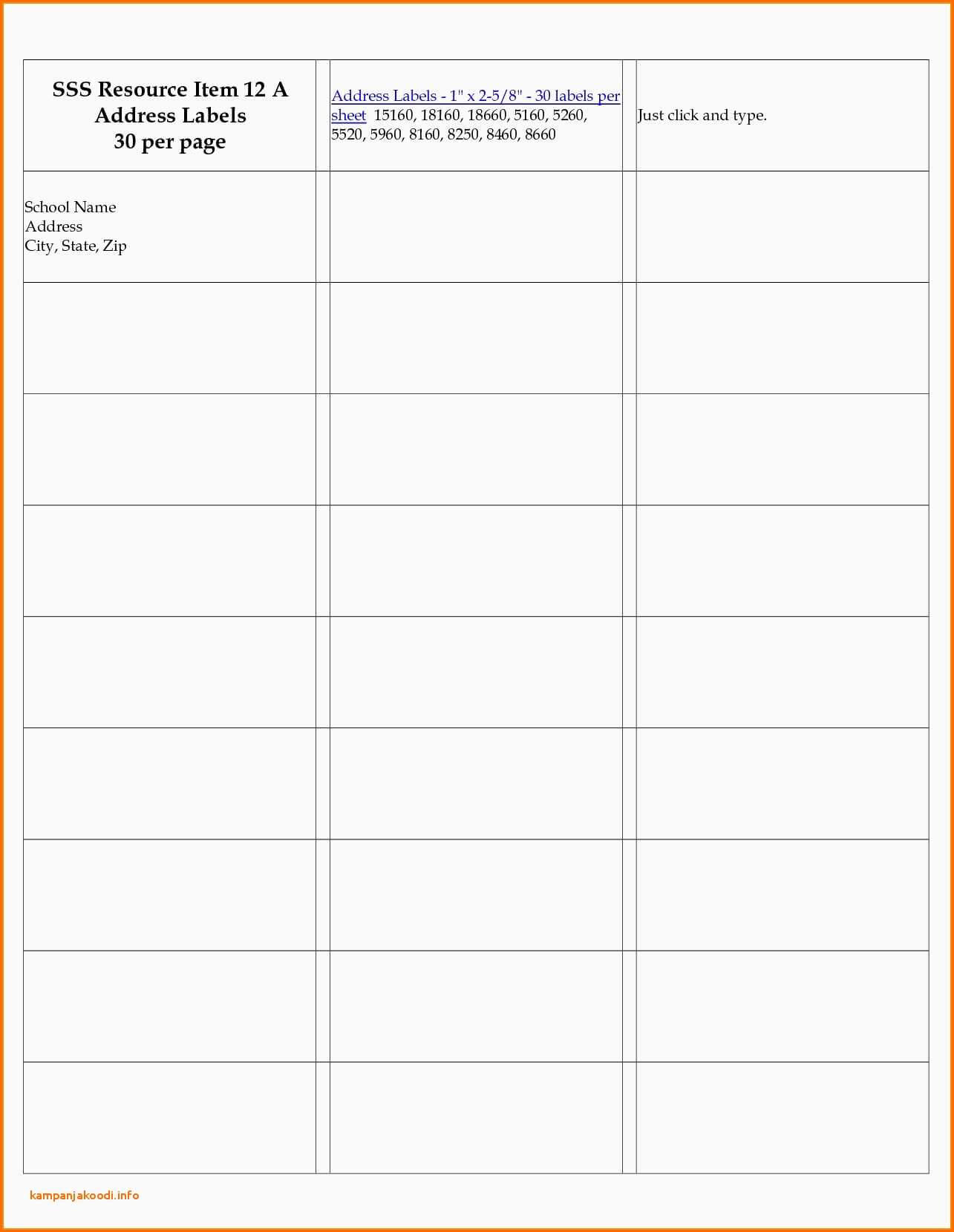 8 Labels Per Sheet Template Word - Atlantaauctionco with regard to Word Label Template 8 Per Sheet