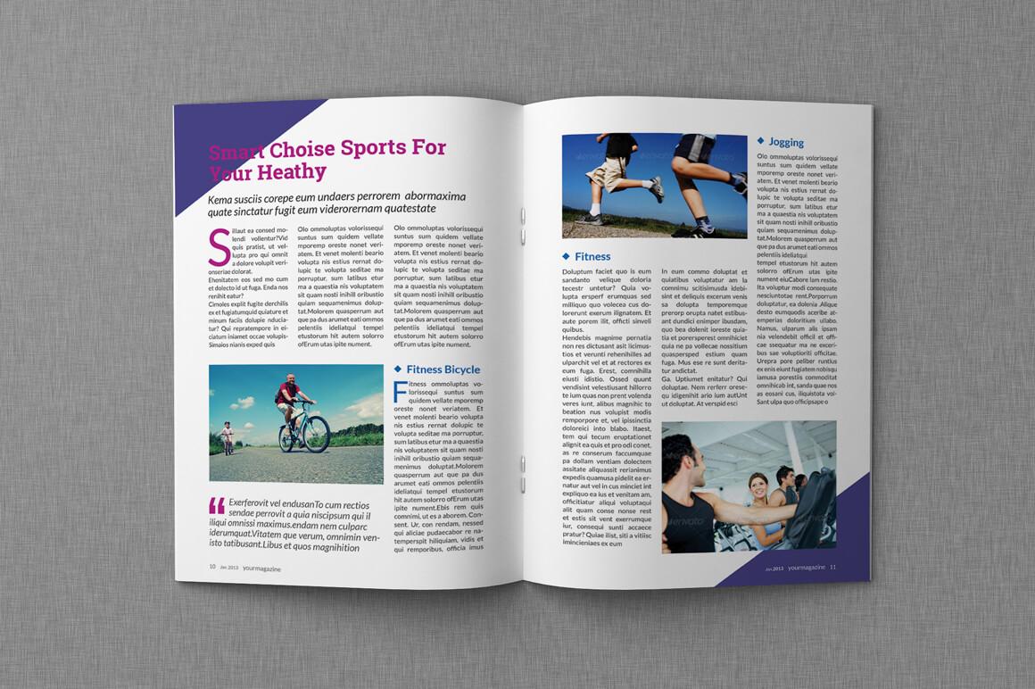 8+ Microsoft Word Magazine Templates - Word Pdf throughout Magazine Template For Microsoft Word