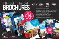 8 Print-Ready Indesign Bi-Fold & Tri-Fold Brochure Templates for Adobe Indesign Tri Fold Brochure Template