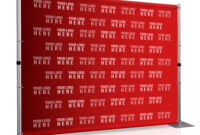 8' X 10' Step And Repeat Backdrop For Red Carpet Events throughout Step And Repeat Banner Template