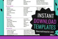 8X10 Actor Resume Templates – Instant Download Acting Resume regarding Theatrical Resume Template Word