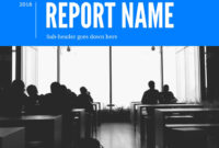 9 Free Report Templates & Examples – Lucidpress pertaining to Report Writing Template Free