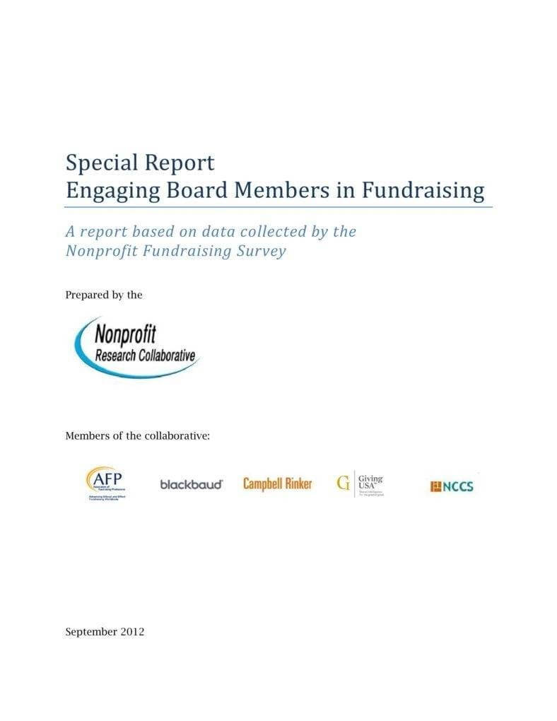 9+ Fundraising Report Templates – Pdf, Word   Free & Premium Inside Fundraising Report Template